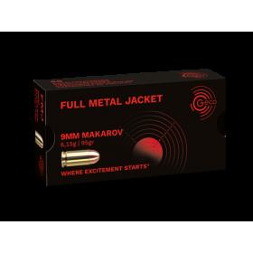 GECO 9mm Makarov - 93 GR FMJ