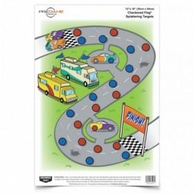 Cibles course de voitures