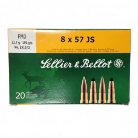SELLIER & BELLOT 8x57 JS...