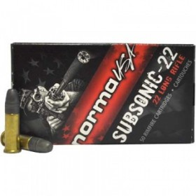 Munitions NORMA 22LR...